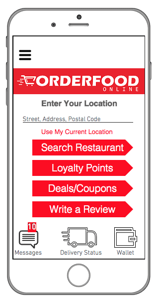 order food in Milton